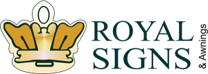 Custom Signs & Graphics royal signs logo 300x108